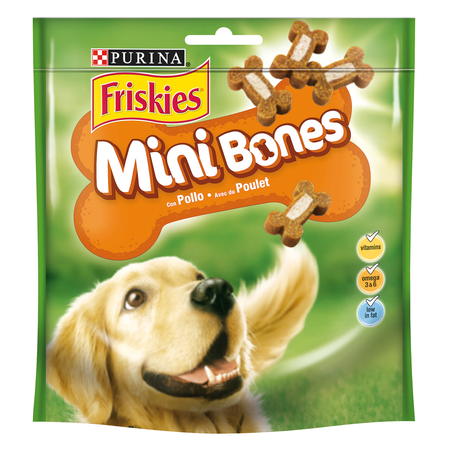 Purina Friskies Snacks para Perros Mini Bones 94g