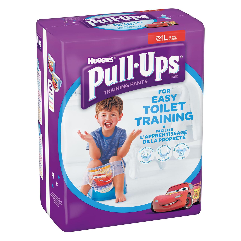 Pañal de aprendizaje niño T. L (16-23 kg.) Huggies Pull-Ups 22 ud.