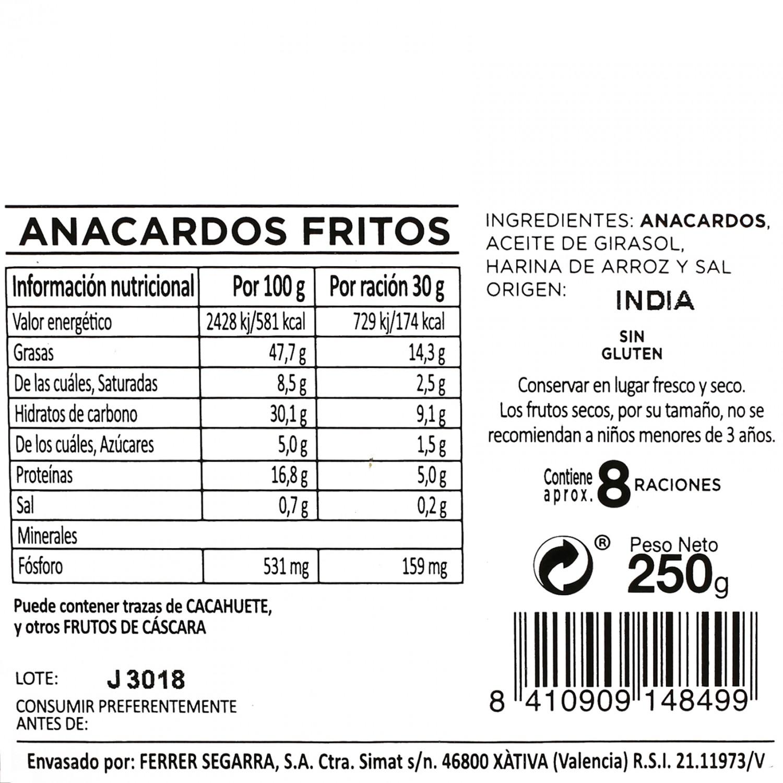 Anarcados fritos - 3