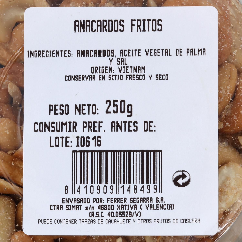 Anarcados fritos -
