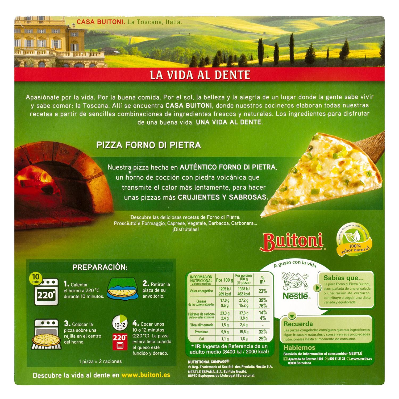 Pizza delizia Forno di Pietra Buitoni 320 g. - 3