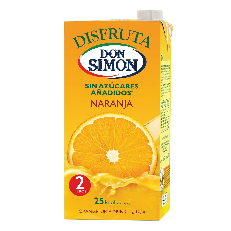 Zumo de naranja Don Simón-Disfruta brik 2 l.