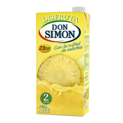 Zumo de piña Don Simón-Disfruta brik 2 l.