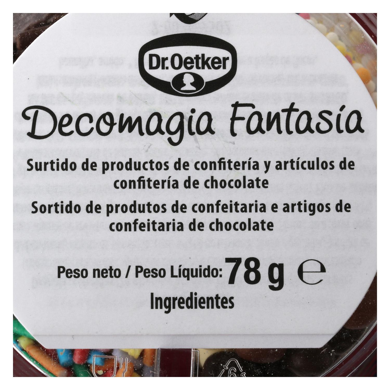 Decomagia fantasía Dr. Oetker 78 g. - 3