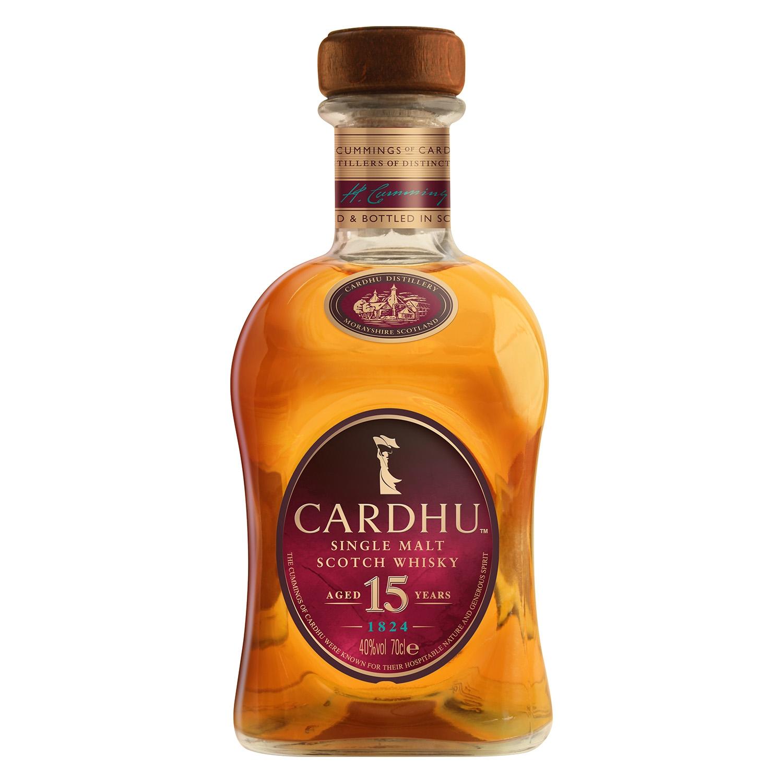 Whisky Cardhu escocés 15 años 70 cl.