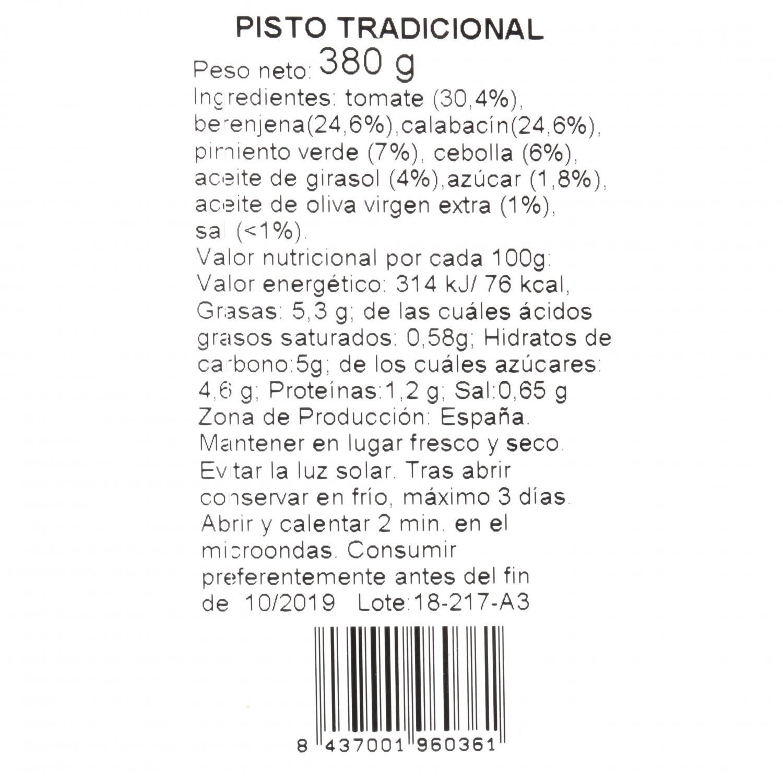 Pisto tradicional Campo Rico 380 g - 3