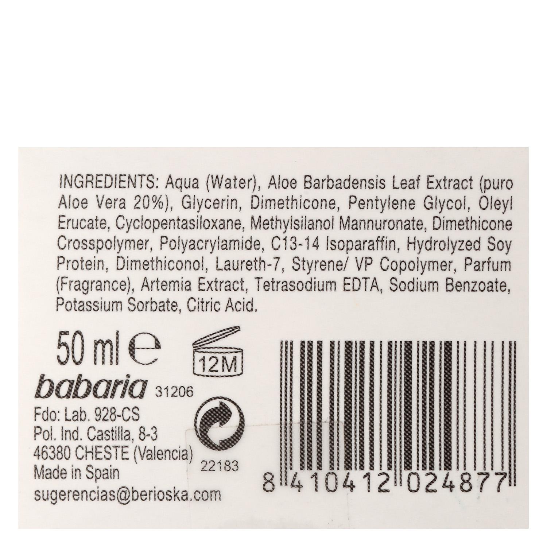 Serum Acción Total 7 efectos Aloe Babaria 50 ml. - 3