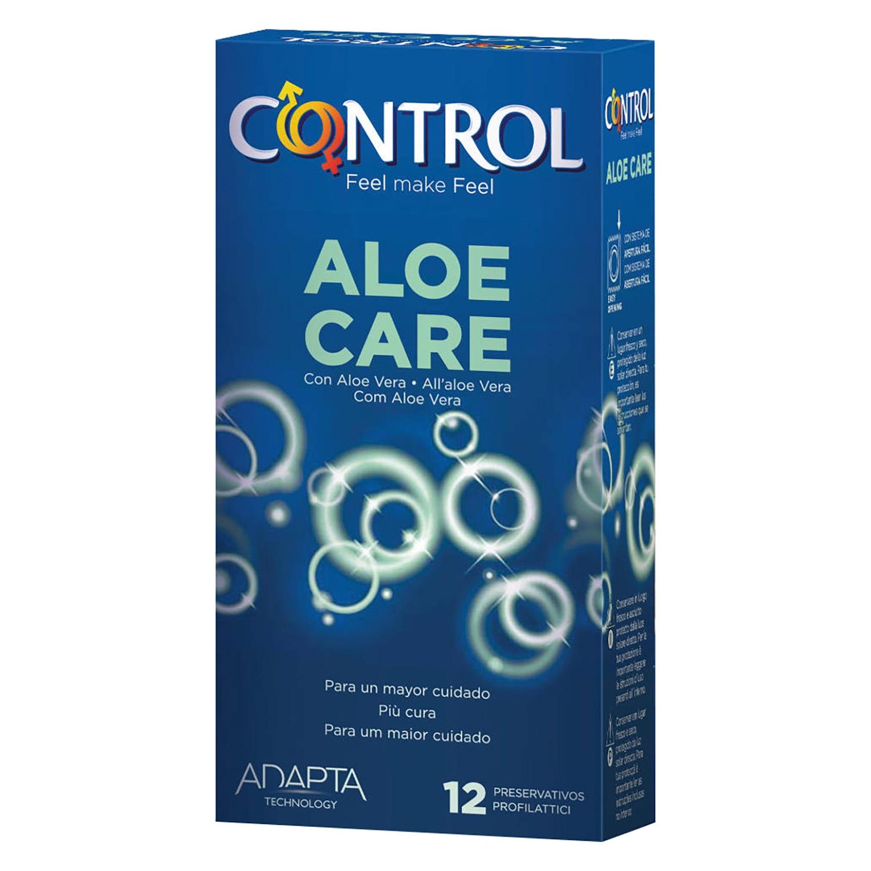 Preservativo con aloe vera care