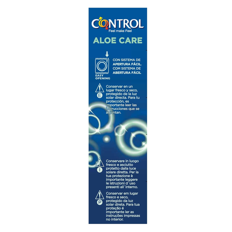 Preservativo con aloe vera care - 2