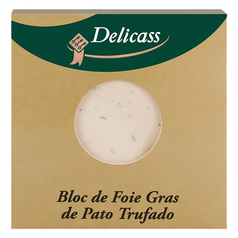 Bloc de foie gras de pato trufado