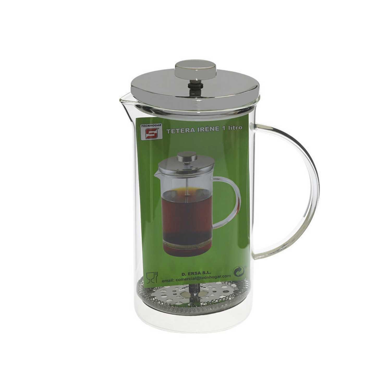 Cafetera de Vidrio 4tzs - Transparente