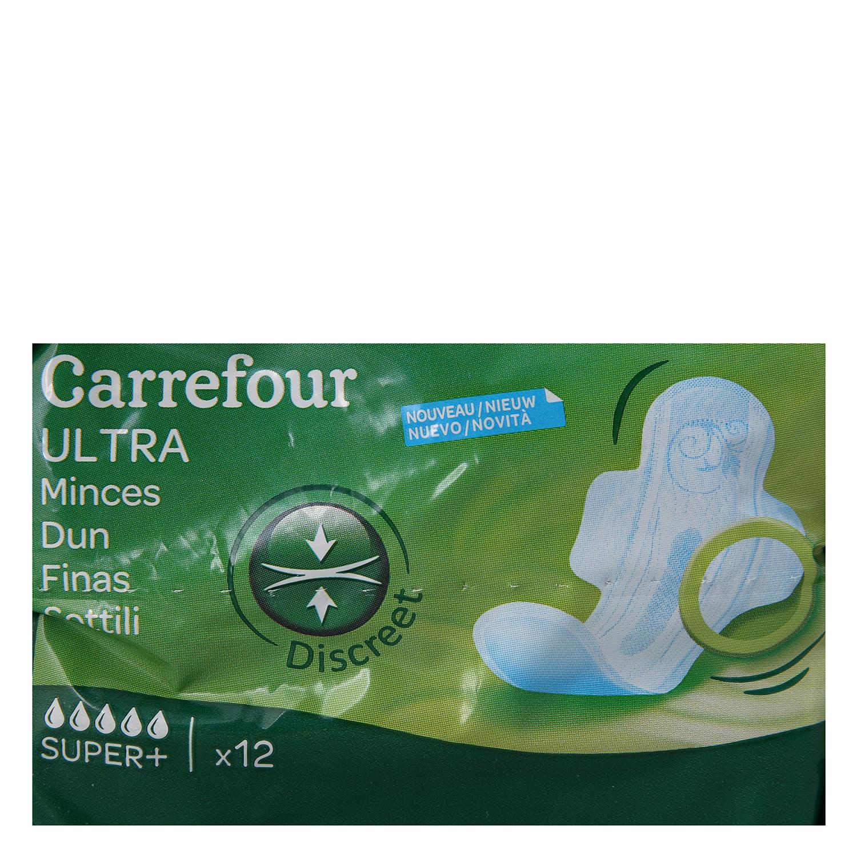 Compresas ultra fina con alas super Carrefour 12 ud. - 3