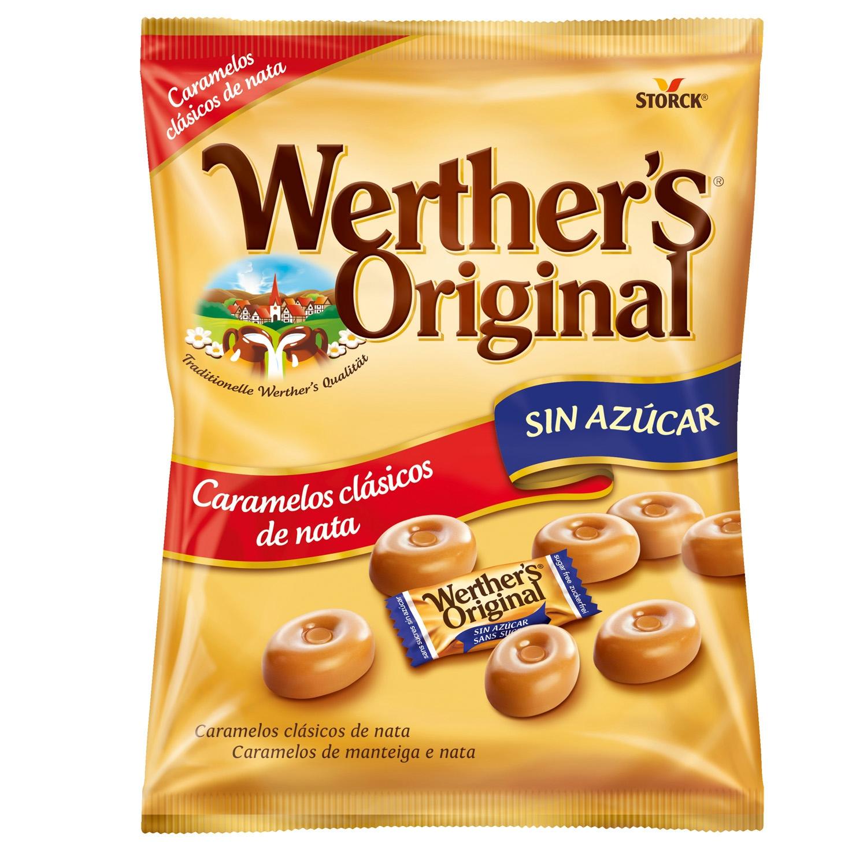 Caramelos de nata Werther's 90 g.