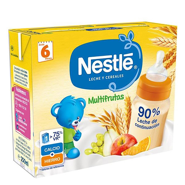 Papilla líquida de cereales multifrutas