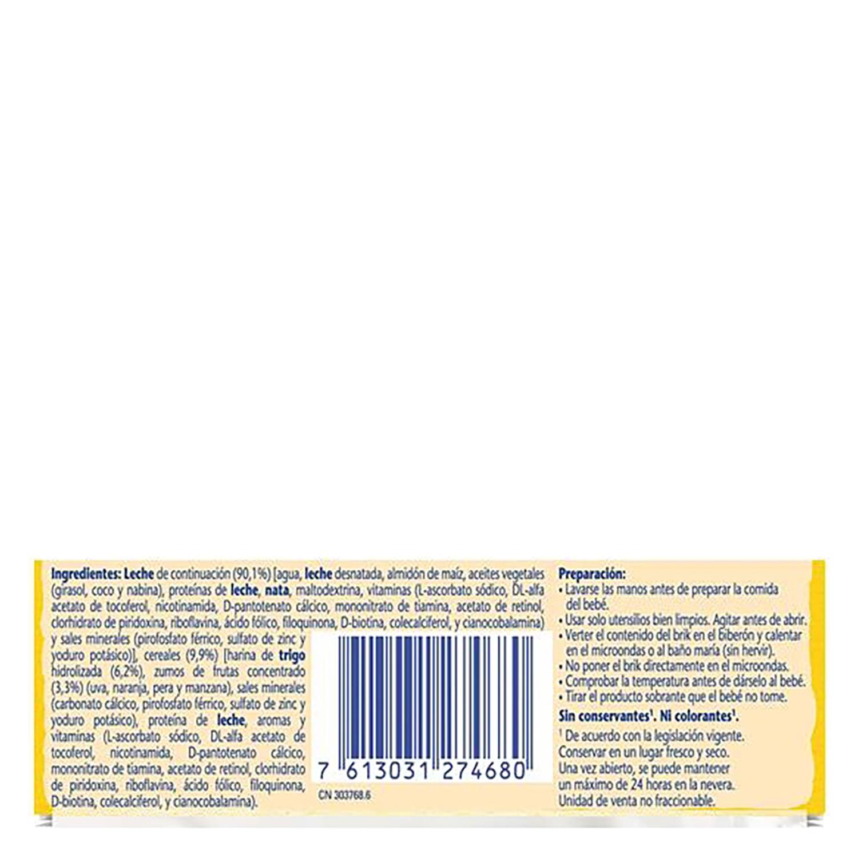 Papilla líquida de cereales multifrutas - 2