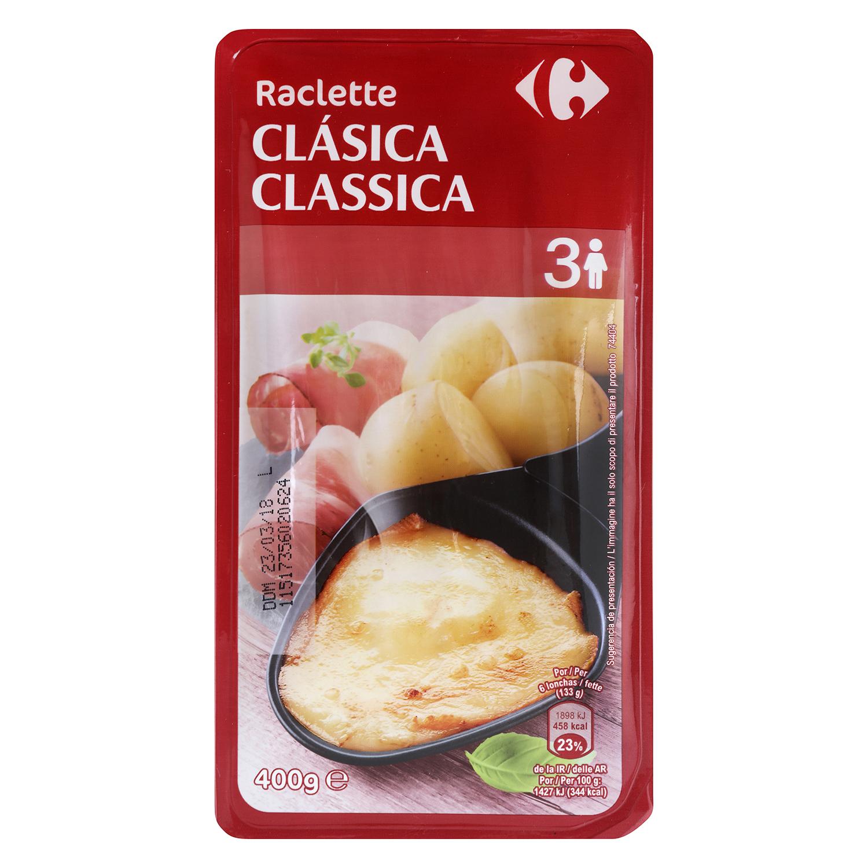 Raclette en lonchas