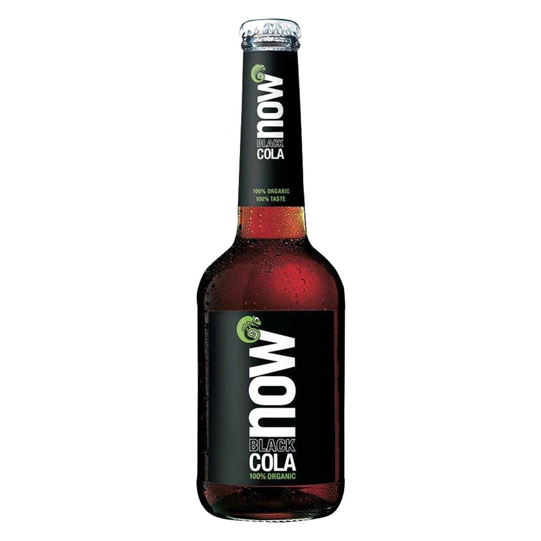 Refresco de cola ecológico Now Black botella