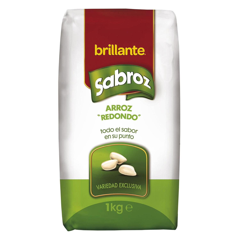 Arroz redondo Brillante Sabroz 1 kg.