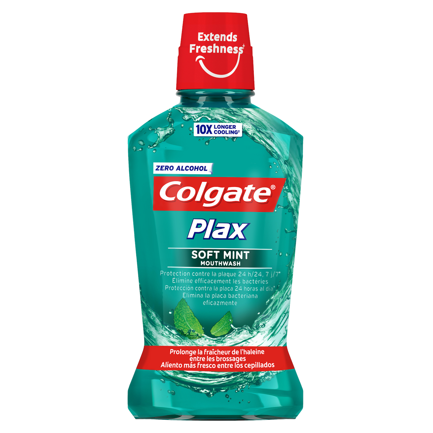 Enjuague bucal Plax multiprotección Colgate 250 ml.