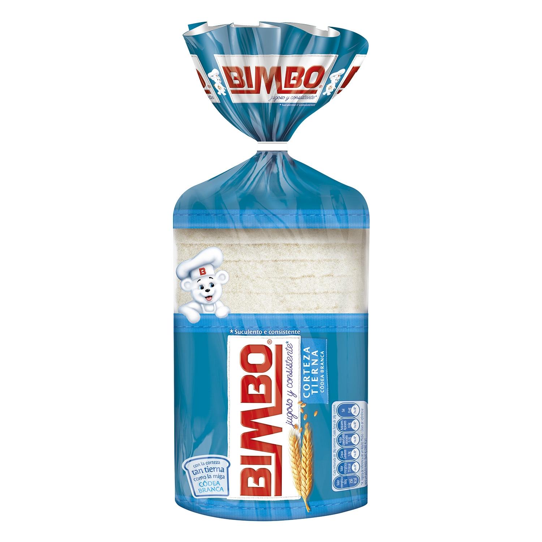Pan de molde con corteza blanca Bimbo 500 g.