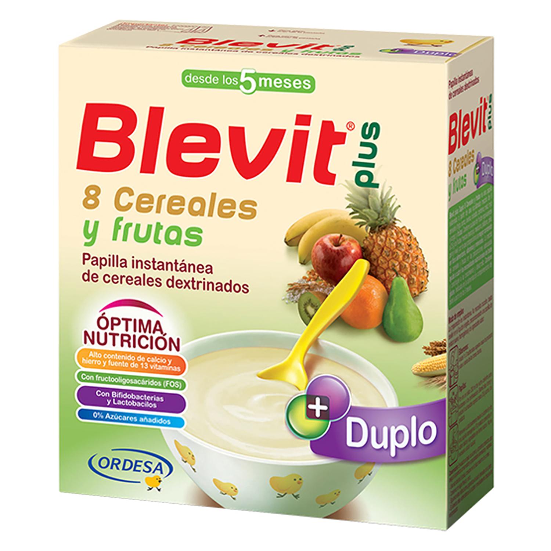 Papilla 8 cereales y frutas