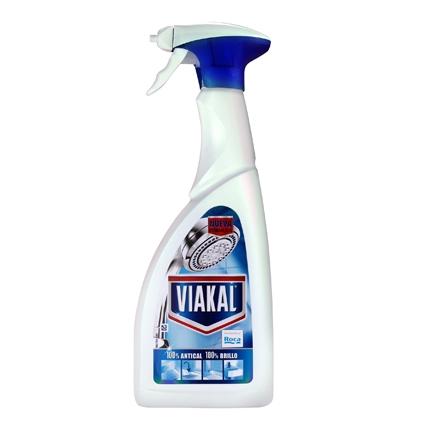 Limpiador antical en gel spray Viakal 700 ml.