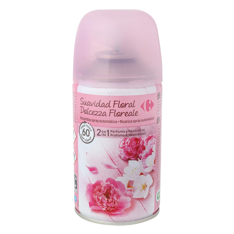 Ambientador automático Floral recambio Carrefour 1 ud.