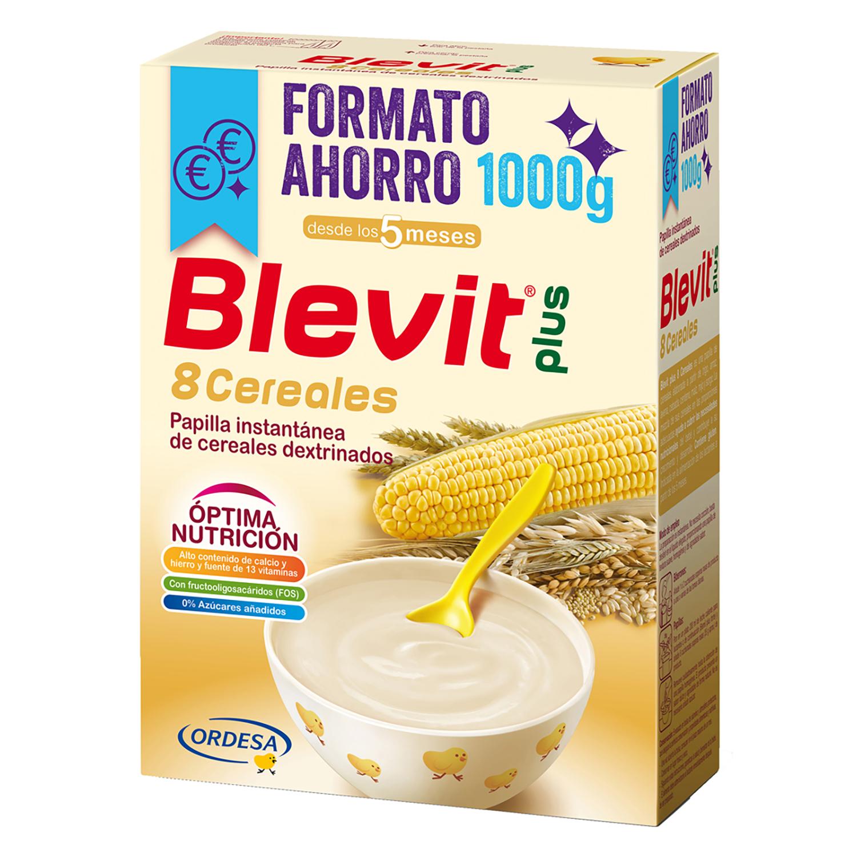 Papilla de 8 cereales Blevit plus 1000 g.