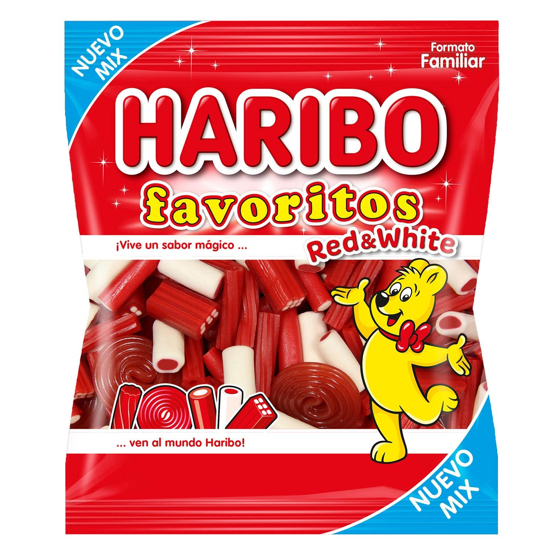 Regaliz de goma Favoritos Haribo 275 g.