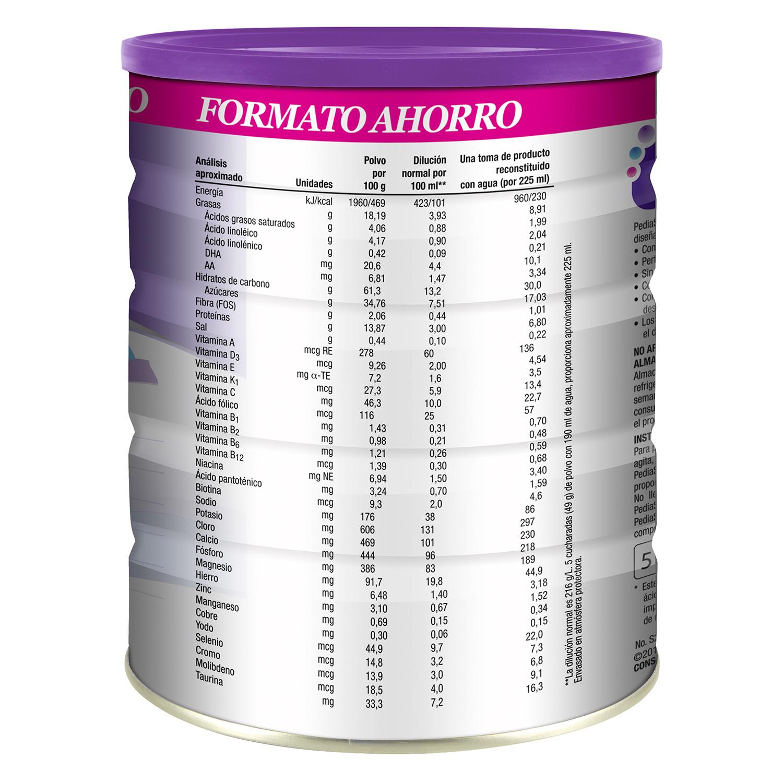 Complemento alimenticio de vainilla en polvo Pediasure 900 g. -