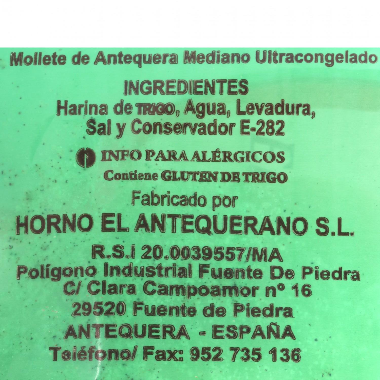 Pan de molletes 1/2  El Antequerano envase 4 ud  - 3