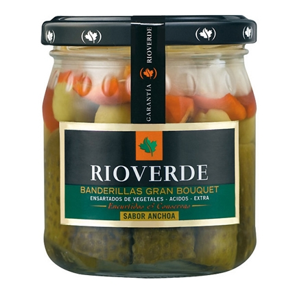 Banderillas sabor anchoa Rioverde 170 g.