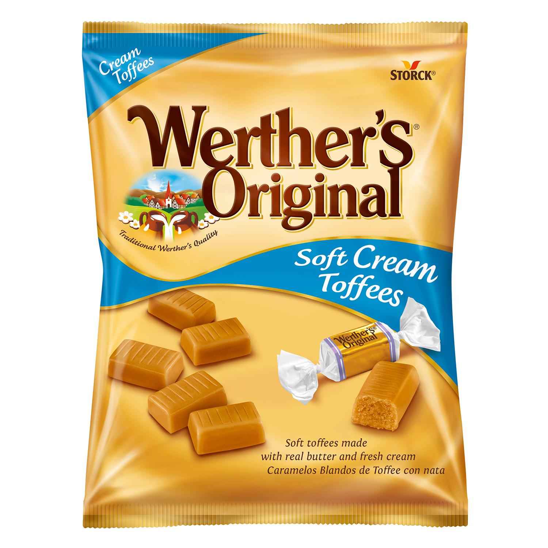 Caramelos sabor toffe Werther's 115 g.