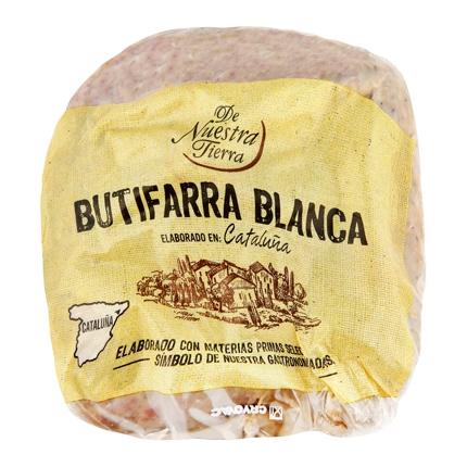 Butifarra blanca De Nuestra Tierra 250 g.
