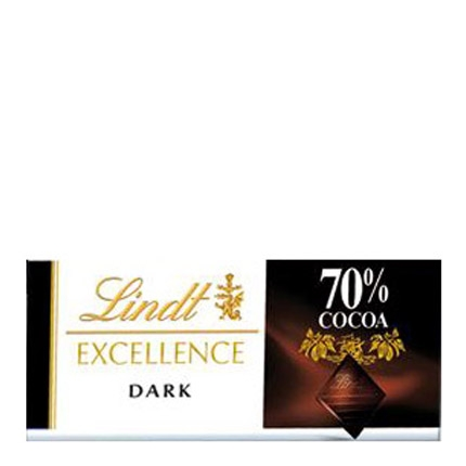 Chocolate negro 70% Lindt Excellence 35 g.