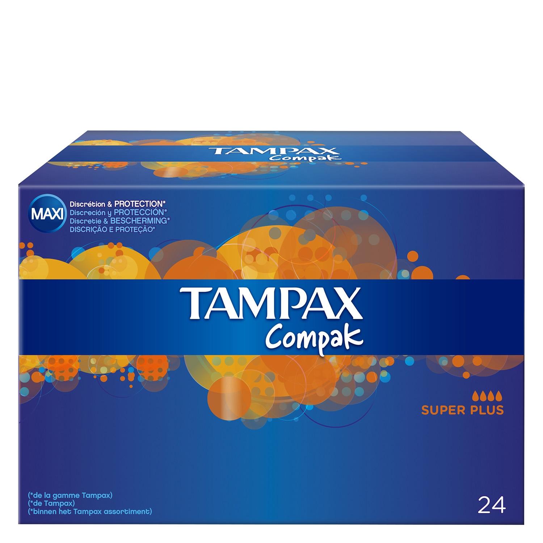 Tampones Compak superplus Tampax 20 ud.