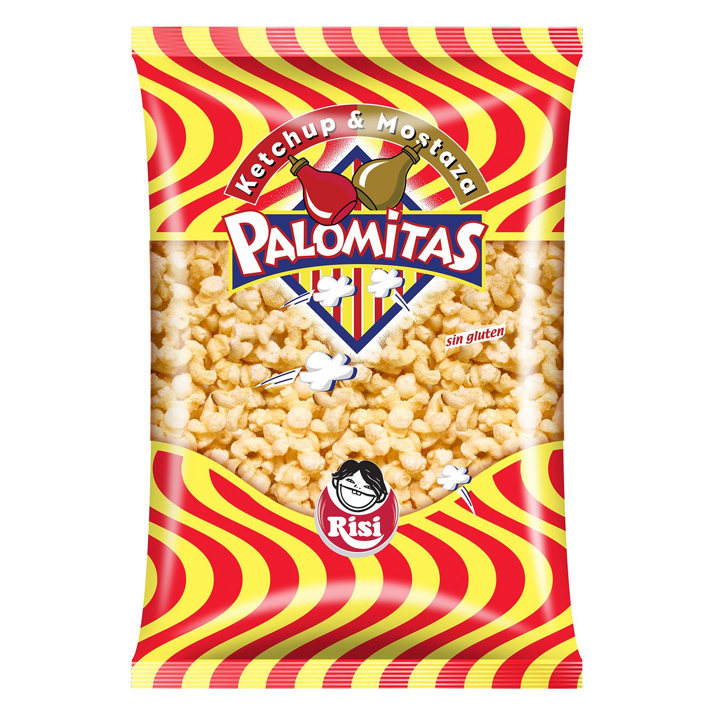 Palomitas sabor ketchup - Mostaza - Sin Gluten