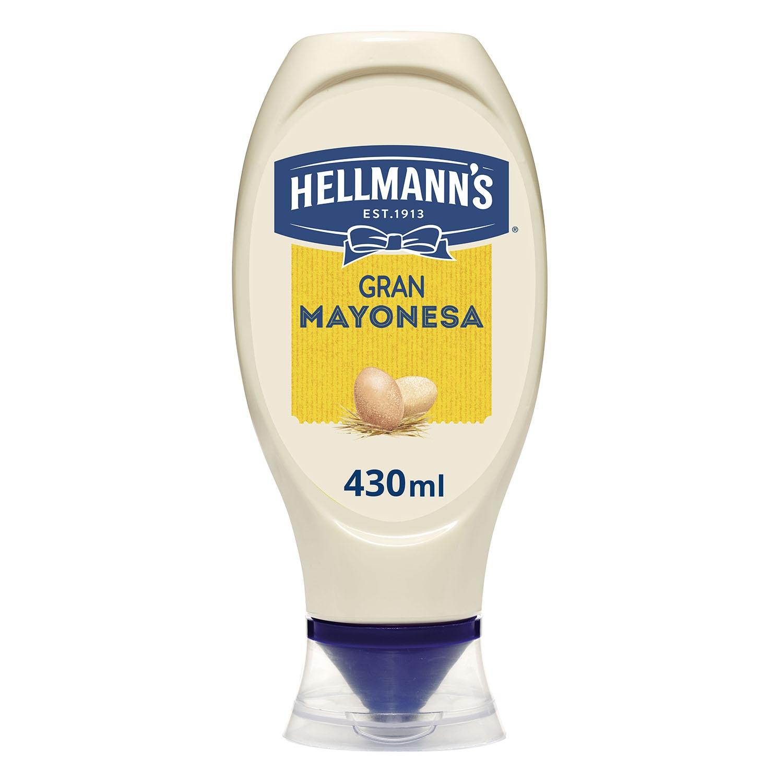 Mayonesa Hellmann's envase 430 g. - 2