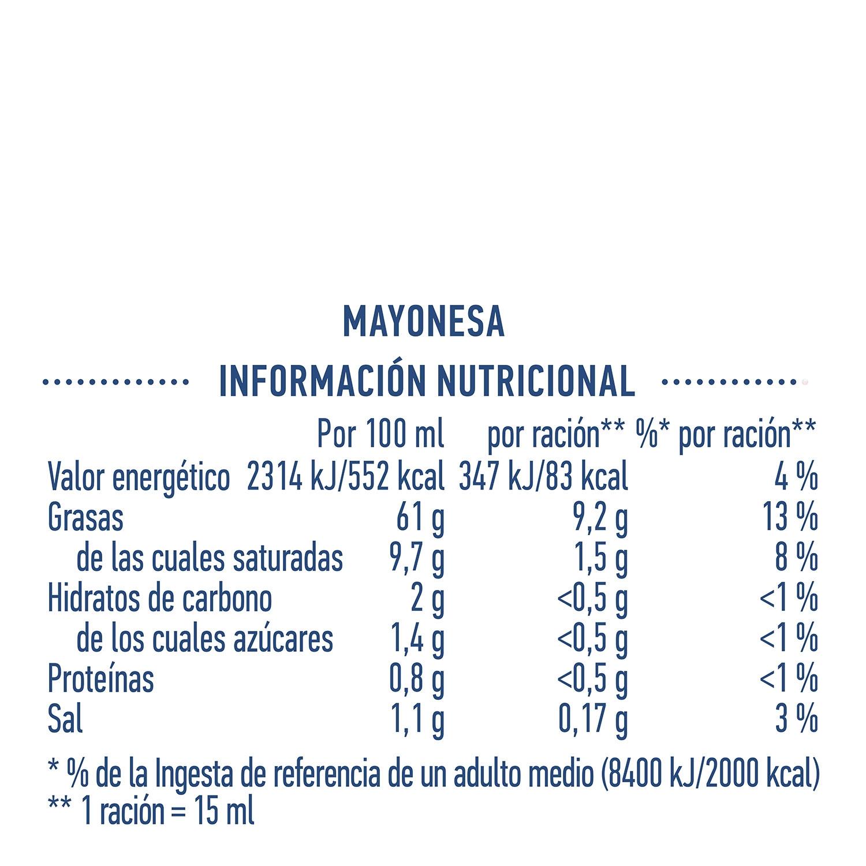 Mayonesa Hellmann's envase 430 g. - 4