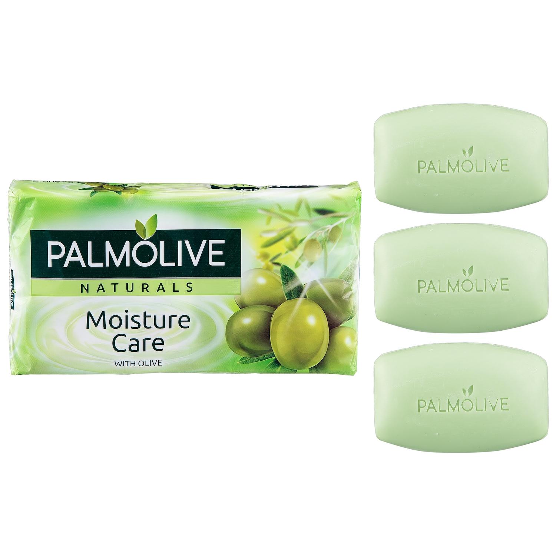 Jabón pastilla orignal verde NB Palmolive pack de 3 unidades de 90 g.