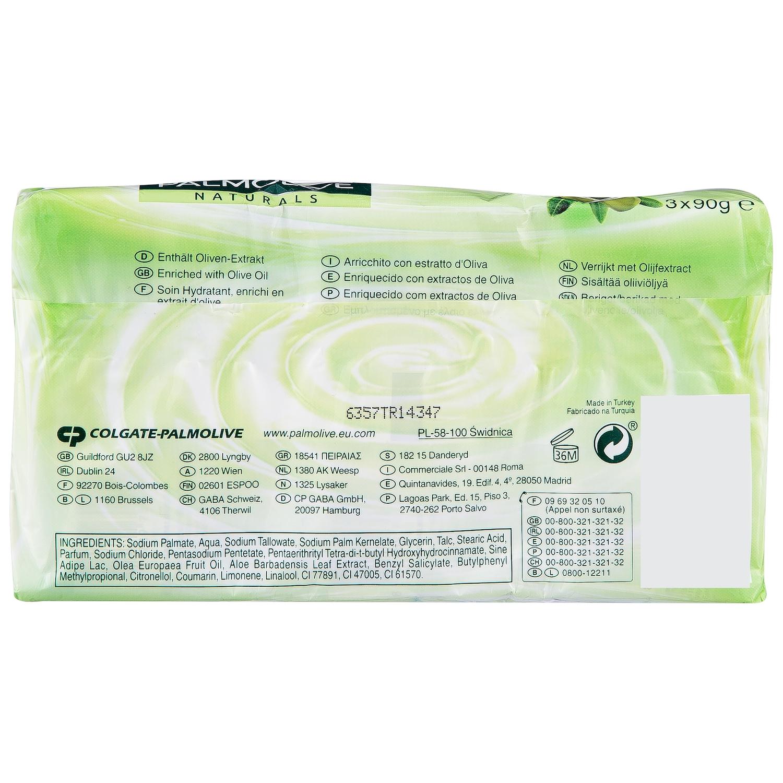 Jabón pastilla orignal verde NB Palmolive pack de 3 unidades de 90 g. - 2