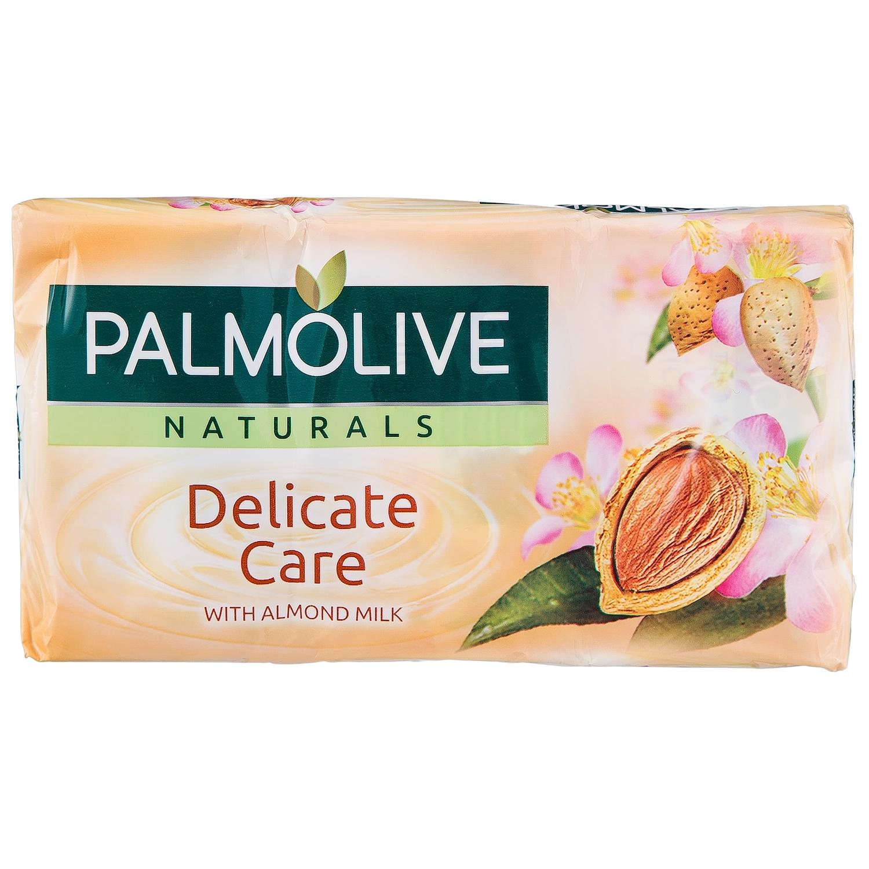 Jabón pastilla sensitivo NB Palmolive pack de 3 unidades de 90 g. -