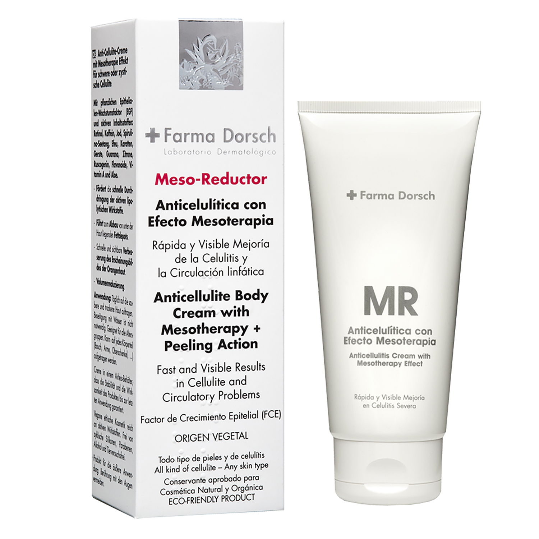 Anticelulítica con Efecto Mesorterapia Meso-Reductor + Farma Dorsch 200 ml.