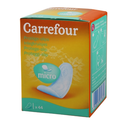 Protegeslip micro Carrefour 44 ud.