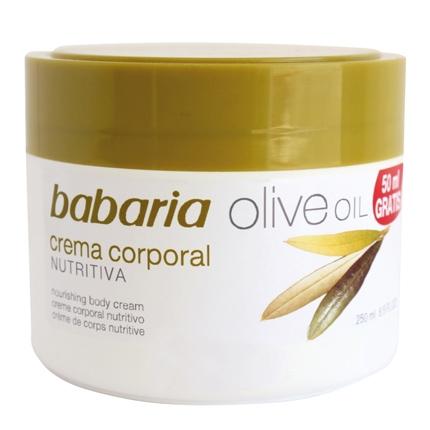 Crema corporal nutritiva Oliva