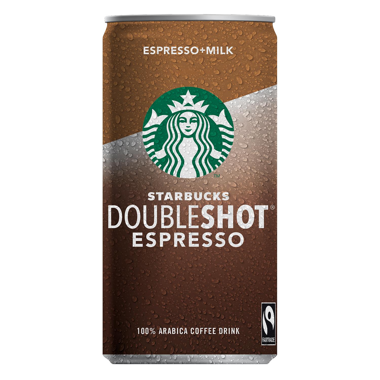 Café expresso sin azúcares añadidos Starbucks 200 ml.