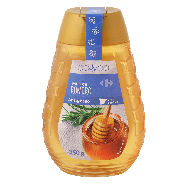 Miel de romero antigoteo Carrefour 350 g.