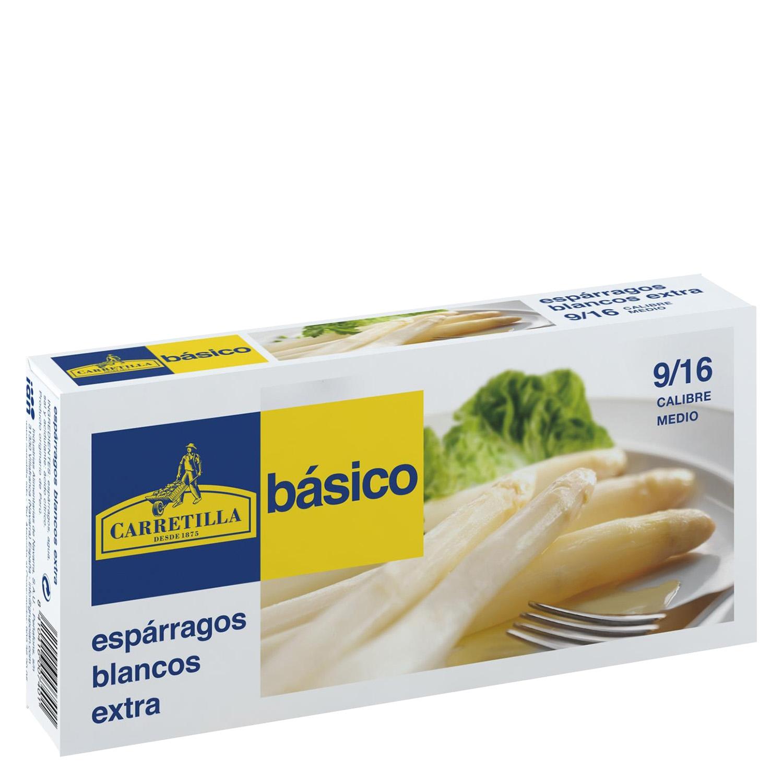 Espárragos blancos extra Carretilla 150 g.