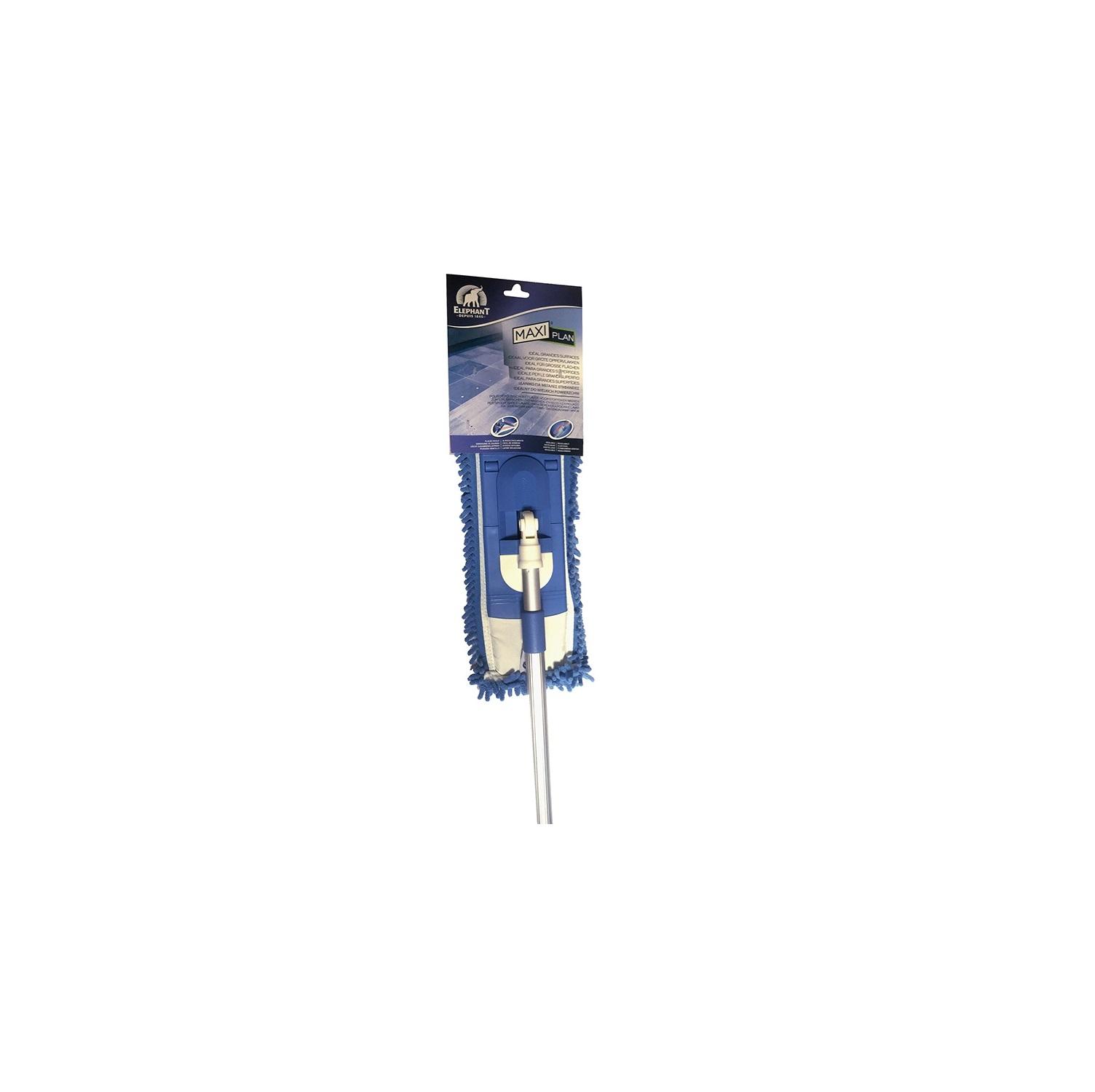 Set de Mopa con palo combinado Maxiplan Azul