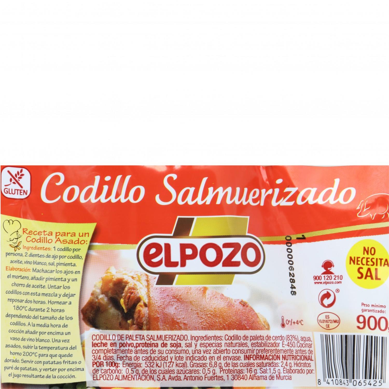 Codillo de Cerdo Salmuerizado El Pozo 900 g - 3
